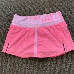 Lululemon Coral Tennis Skirt